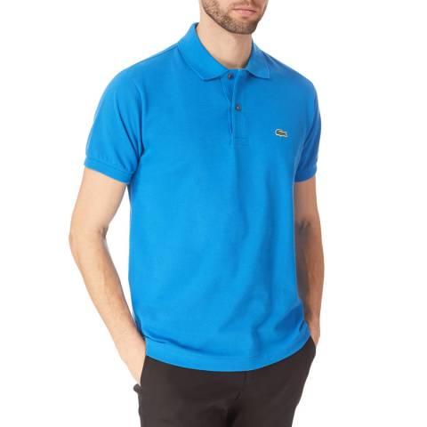Lacoste Bright Blue Cotton Polo Shirt