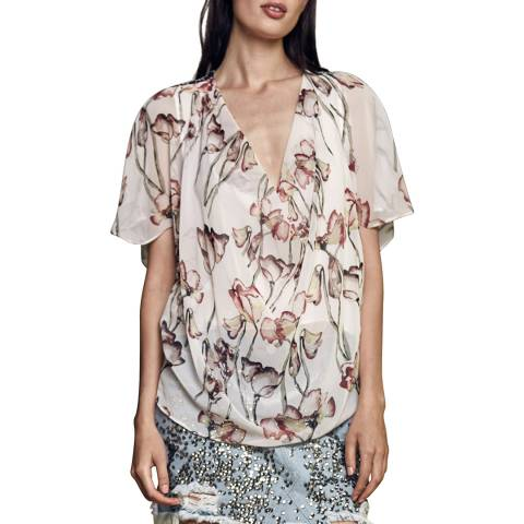 Religion Timid Light Print Care Top