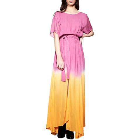 Religion Deco Rose/Cadmium Icon Maxi Dress