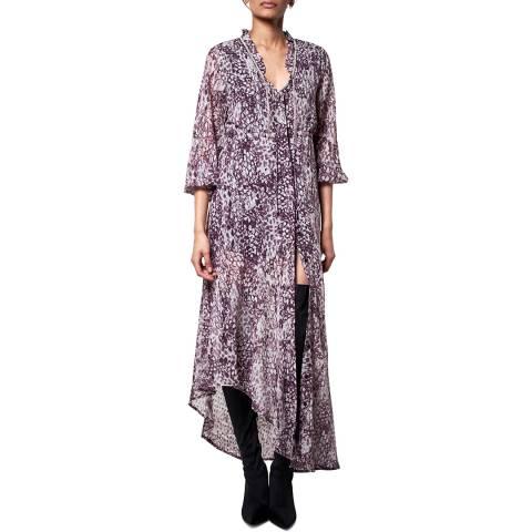 Religion Whirl Print Aspect Dress