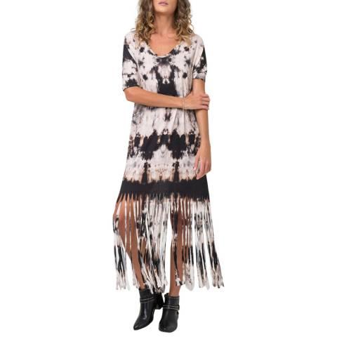 Religion Multi Thunder Print Back Beat Dress