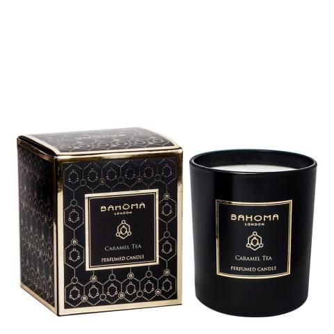 Bahoma Obsidian Black Collection Caramel Tea Candle 220g