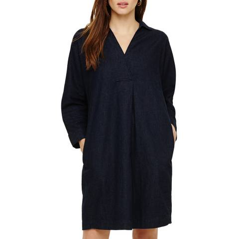 Phase Eight Dark Denim Kathy Dress