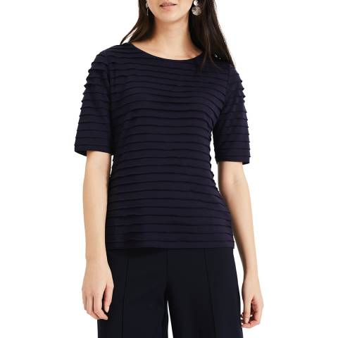Phase Eight Navy Lia Layered Top
