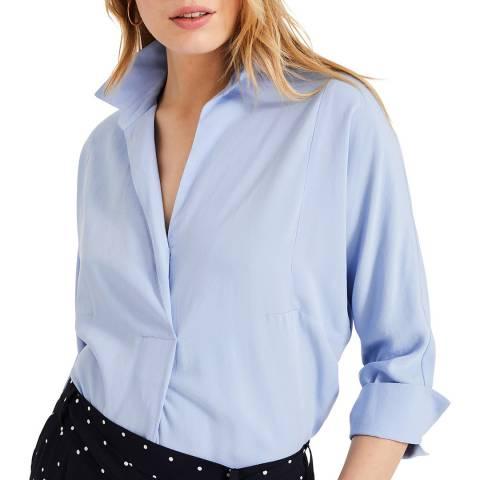 Phase Eight Pale Blue Brogan Shirt