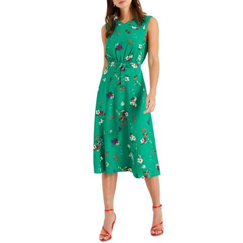Phase Eight Green Floral Meryl Dress