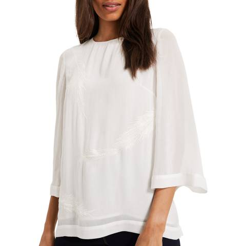 Phase Eight Ivory Odette Blouse