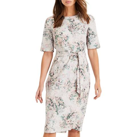 Phase Eight Multi Floral Printed Chantel Dress