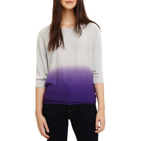 Phase Eight Becca Dip Dye Jumper Purple