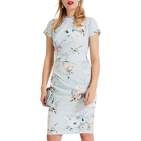 Phase Eight Light Blue Ashley Floral Dress