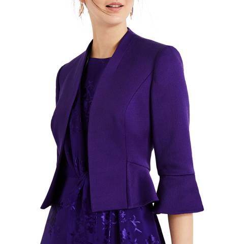 Phase Eight Purple Amanda Jacket