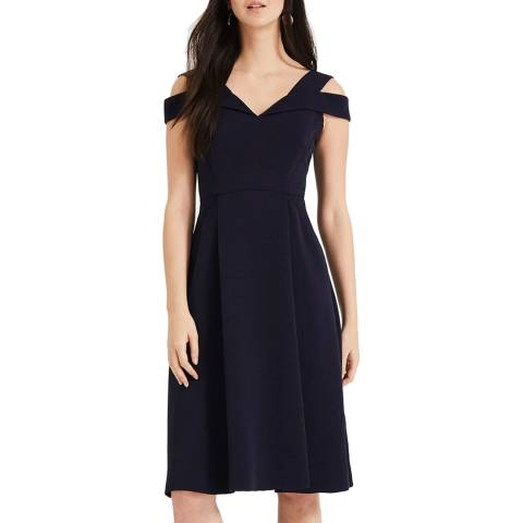 Phase Eight Navy Ellis Dress