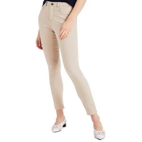 Phase Eight Beige Aida Skinny Stretch Jeans
