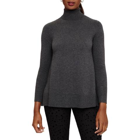 Phase Eight Charcoal Suzie Swing Jumper