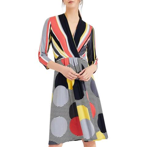 Phase Eight Multi Printed Piper Dress