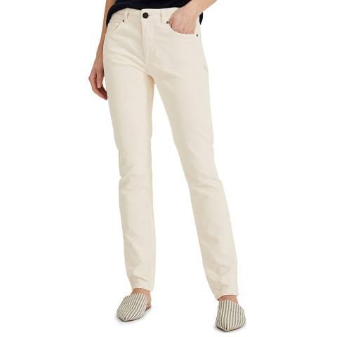 Phase Eight Cream Feobee Cord Jeans