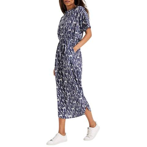 Phase Eight Blue Madison Print Dress