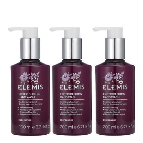 Elemis Exotic Blooms Hand Wash Trio - WORTH £45