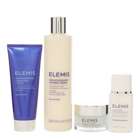 Elemis Pro-Collagen Refresh & Revive Face & Body Set, Skin Nourishing WORTH £105