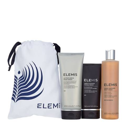 Elemis Men's Face & Body Set - WORTH £74