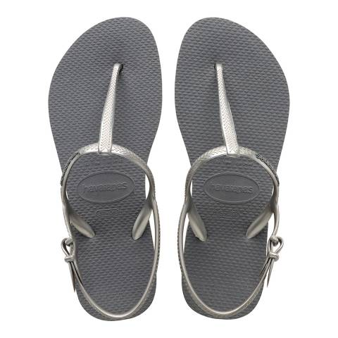 Havaianas Steel Grey Freedom Sandals