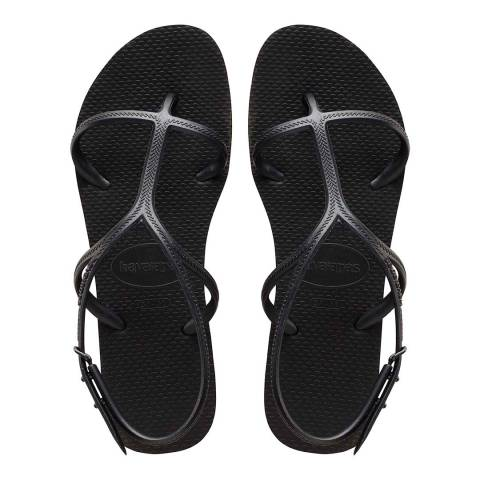 Havaianas BLACK BEACH SANDALS WOMEN HAV. ALLURE