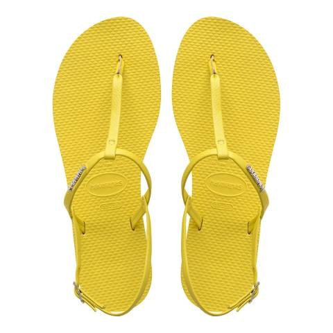 Havaianas Light Yellow You Riviera Sandals