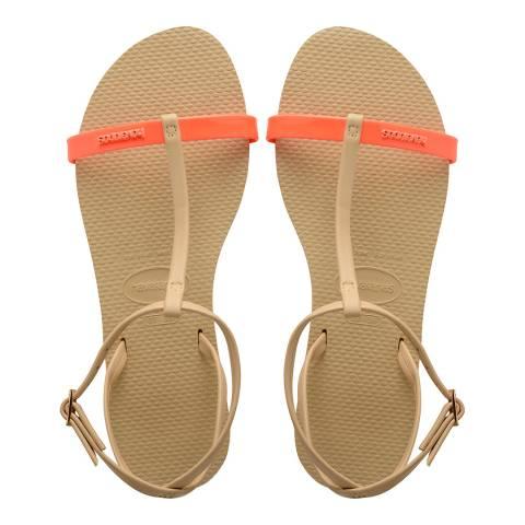 Havaianas Cyber Orange You Belize Sandals