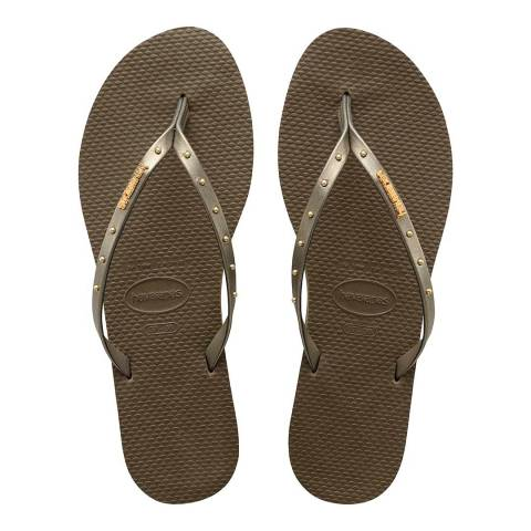 Havaianas DARK KHAKI OPEN SANDALS HAV. YOU MAXI