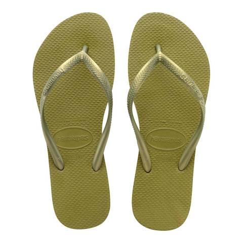 Havaianas Camo Green Slim Flip Flop