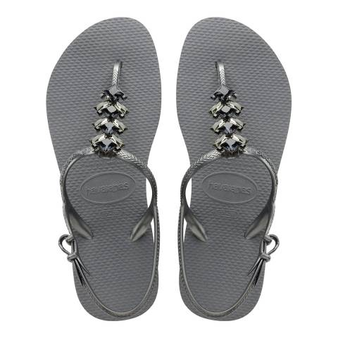 Havaianas Steel Grey Special Freedom Capri II Sandal