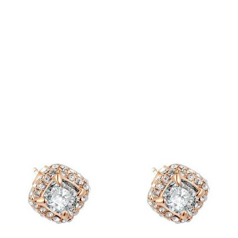 Ma Petite Amie Rose Gold Earrings with Swarovski Crystals