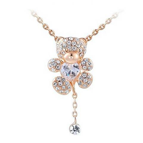 Ma Petite Amie Classic Necklace with Swarovski Crystals