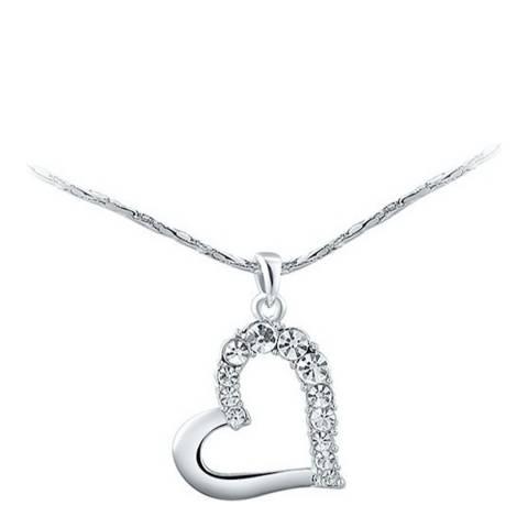 Ma Petite Amie Heart Necklace with Swarovski Crystals