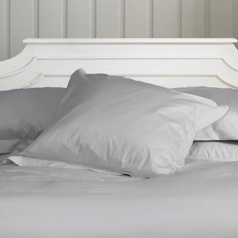 The Lyndon Company 800TC Oxford Square Pillowcase, Silver