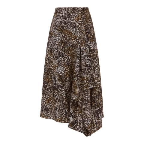 Hobbs London Multi Print Lola Skirt
