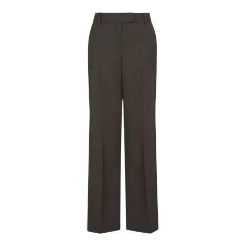 Hobbs London Khaki Addison Trousers