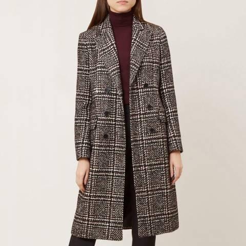 Hobbs London Monochrome Evalyn Coat