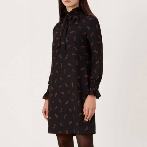 Hobbs London Black Luna Dress