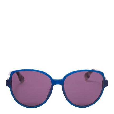 Dior Women's Purple/Blue Dior Sunglasses 58mm