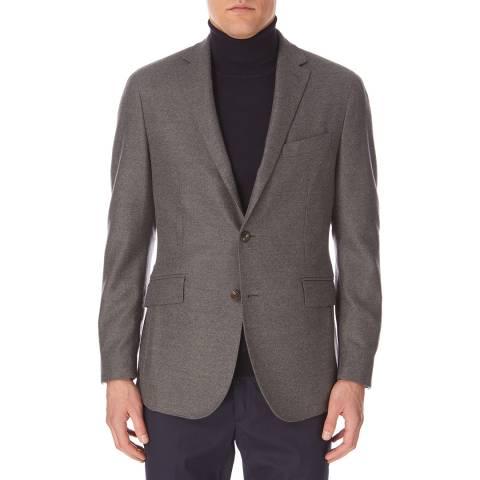 Hackett London Grey Mayfair Flannel Jacket