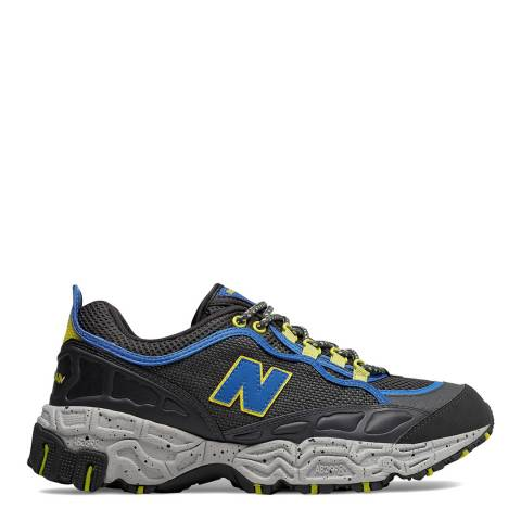 New Balance Grey & Blue 801 V1 Leather Sneakers