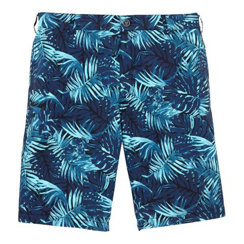 Vilebrequin Blue Palm Shorts