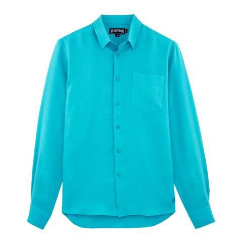 Vilebrequin Aqua Linen Shirt