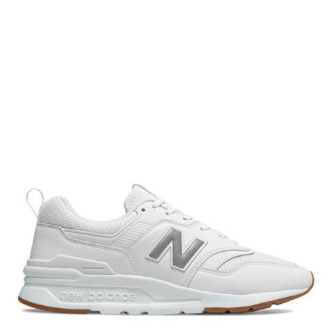 New Balance White 997H Sneakers