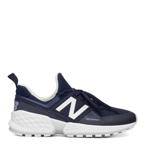 New Balance Navy 574 Sport Sneakers