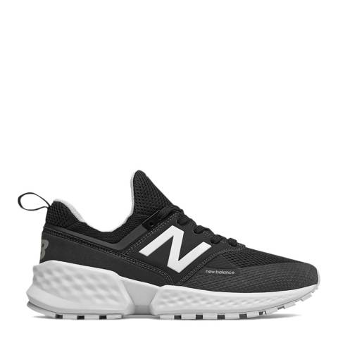 New Balance Black 574 Sport Sneakers