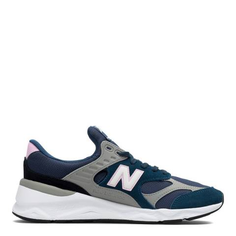 New Balance Blue X-90 Reconstructed Sneakers