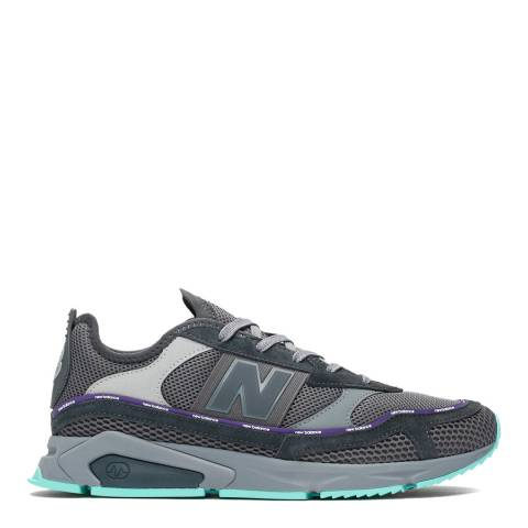New Balance Grey X-Racer Sneakers