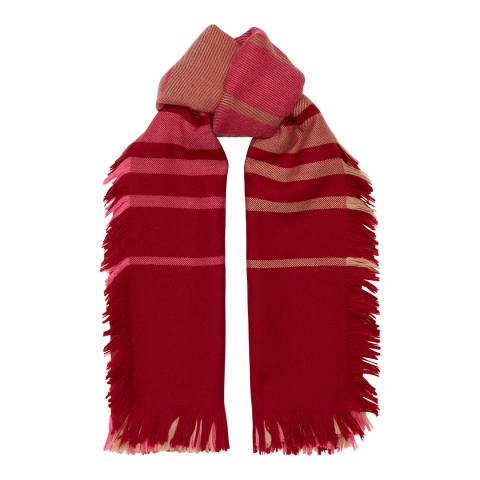 Amanda Wakeley Red Blanket Scarf